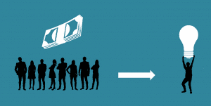 how crowdfunding works in india