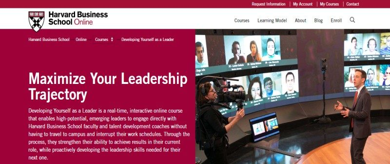 Developing yourself as a Leader by Harvard Business School