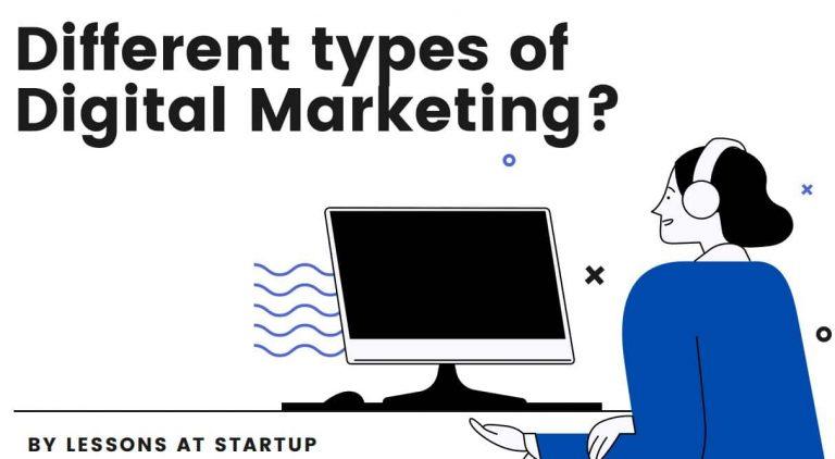 Different type of Digital Marketing
